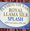 Royal Llama Silk Splash