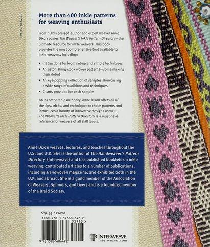 Weaver S Inkle Pattern Directory